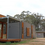 corrugated iron rear
